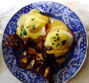 Eggs Benedict at The Bishop's Hall