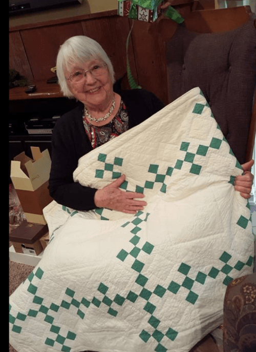 Mother and the Quilt