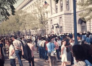 Washington DC, May 9, 1970
