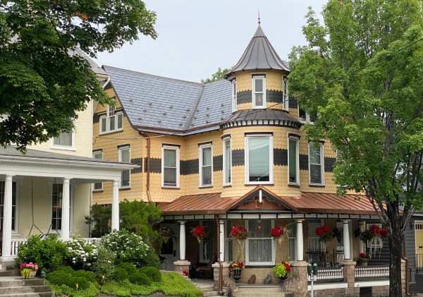 This Victorian house on Broad Street always catches my eye.