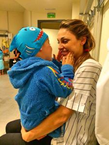 Anna with son, Andrea