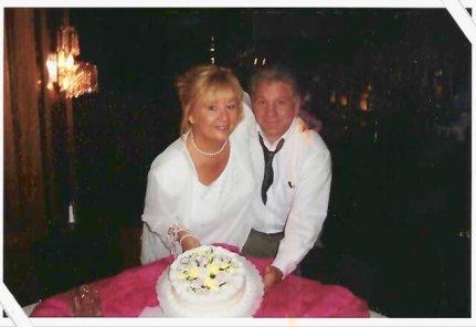 Daughter Linda and Nick wedding