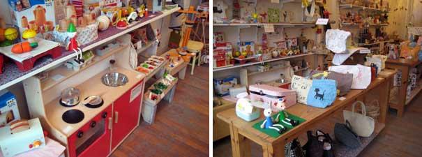 其中一间小孩玩具和用品专卖店