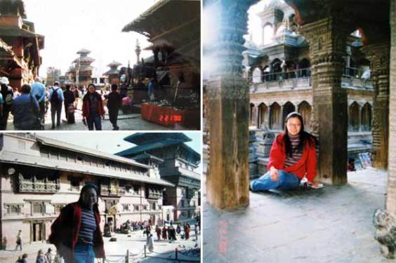 尼泊尔老皇宫广场
