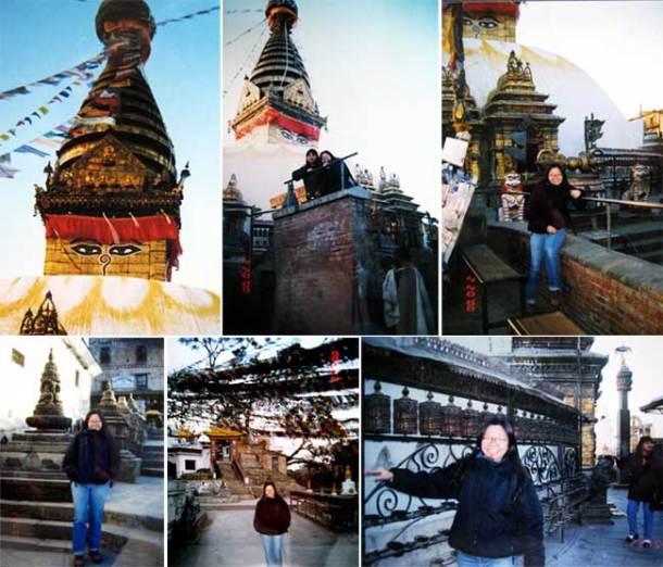 尼泊尔的佛教窣堵坡塔 (Buddhist Stupa, Nepal)