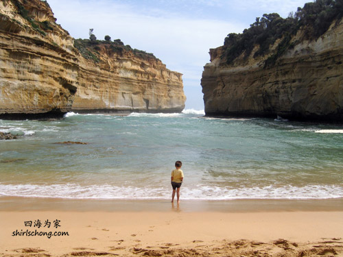 One of the beaches at Great Ocean Road, Australia