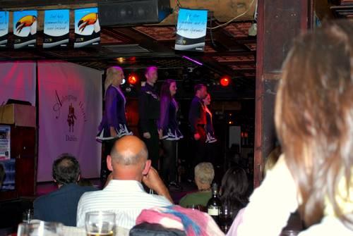 Free River Dance Show at Arlington Hotel Pub, Dublin, Ireland