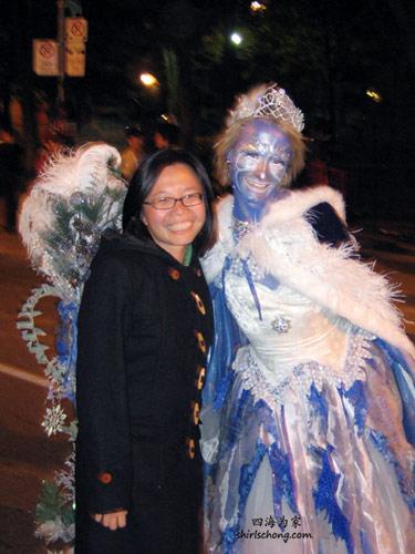 蓝美仙女? (Halloween Street Party, Toronto)