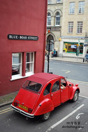 老牛津不乏老车之二 (Oxford, England)