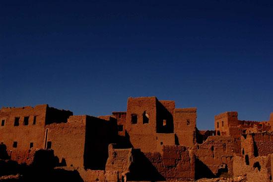 一个在摩洛哥郊外被遗弃了的村落 (Morocco)