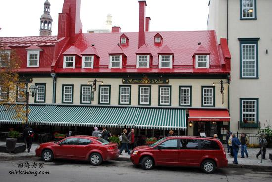 魁北克古城