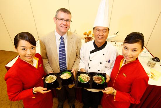 国泰空厨为乘客设计一系列驰名汤面