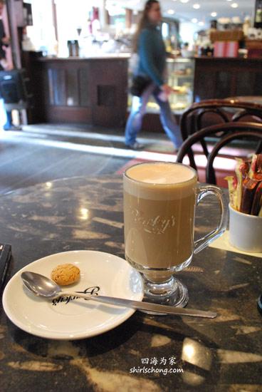 Coffee at Dublin, Ireland