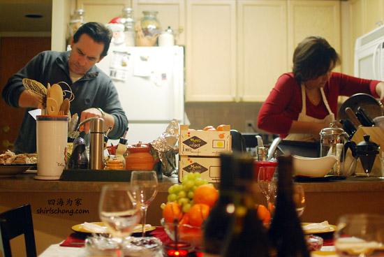 Christmas Dinner Preparation 2009