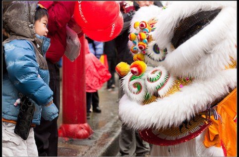 Chinese New Year at Vancouver, Canada