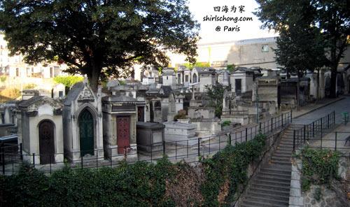 蒙马特墓园 (Montmartre Cemetery, Paris)
