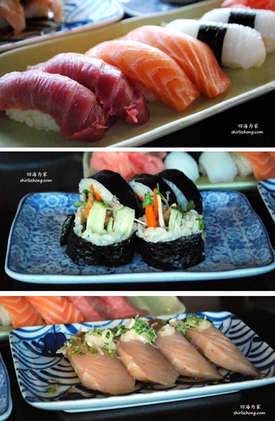 Sushi at Sakura Restaurant, Los Angeles, CA