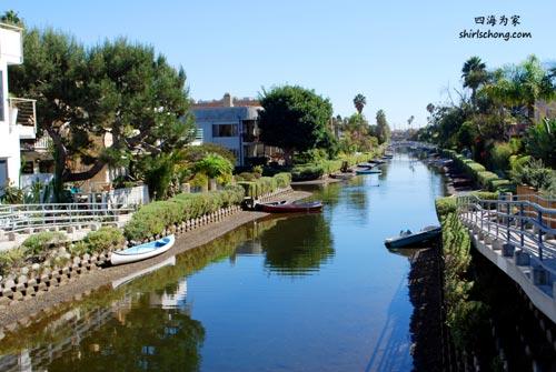 美国洛杉矶威尼斯运河 (Venice Canal, Los Angeles)