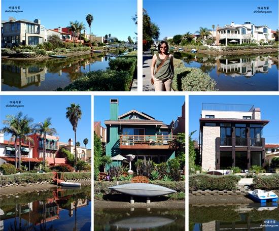 美国洛杉矶威尼斯运河畔的百万豪宅 (Venice Canal, Los Angeles)