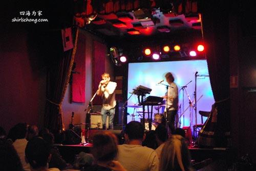 Gig at Vanguard, Newtown, Sydney