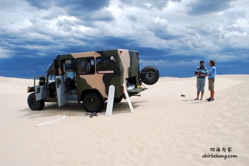 Port Stephens - Sand Dunes 4wd tour