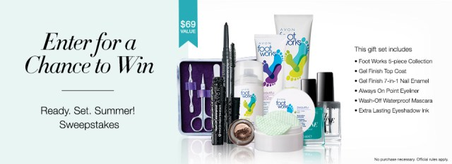 Avon Summer Sweepstakes