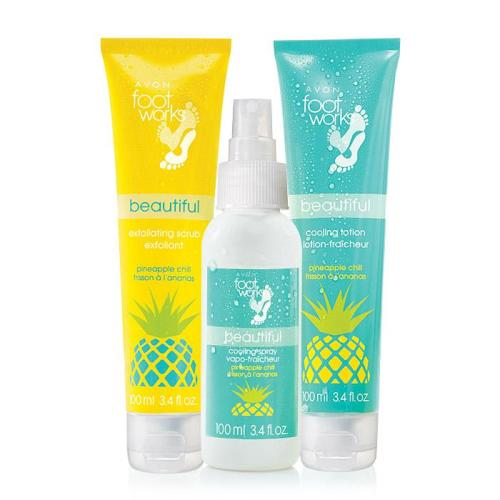 Avon Foot Works Pineapple Chill