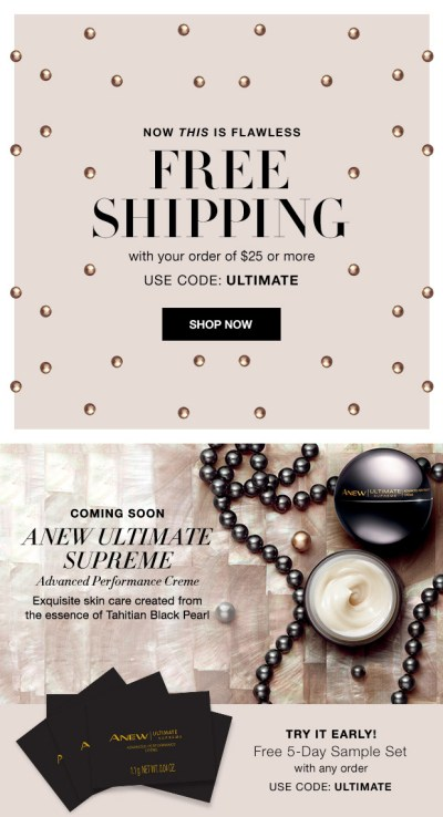 Avon Free Shipping and Free Samples