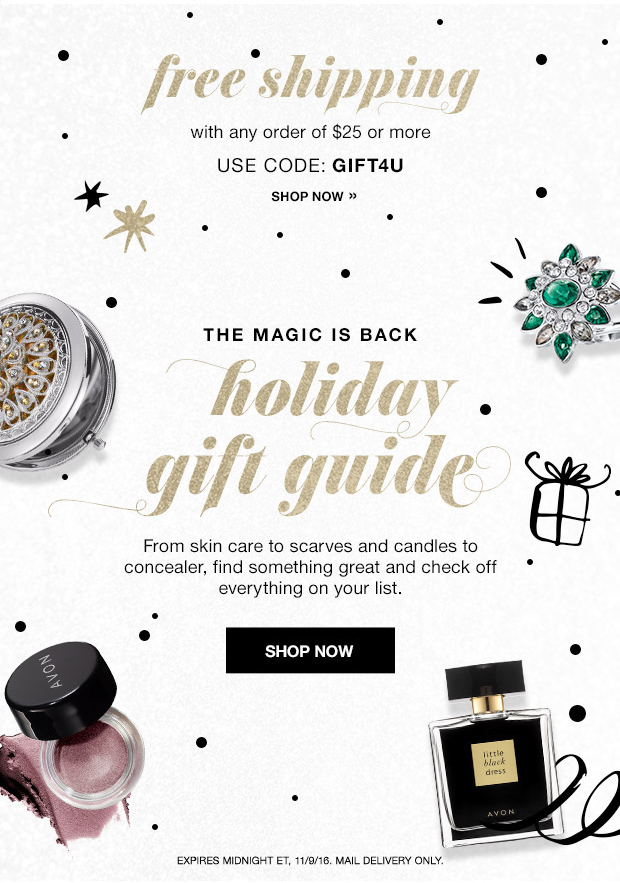 Avon Free Shipping with your $25 Order