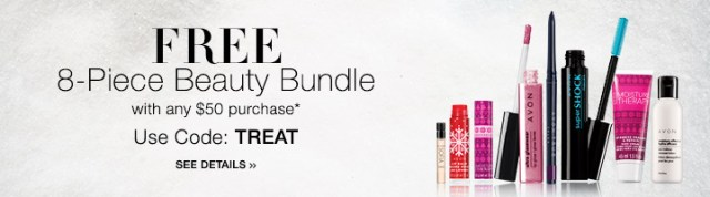 Free Avon 8 Piece Beauty Bundle