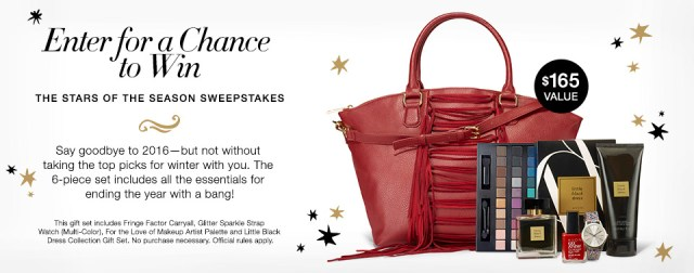 The Avon Stars of the Season Sweepstakes