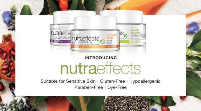 Avon Campaign 4 Starts Now - Introducing nutraeffects