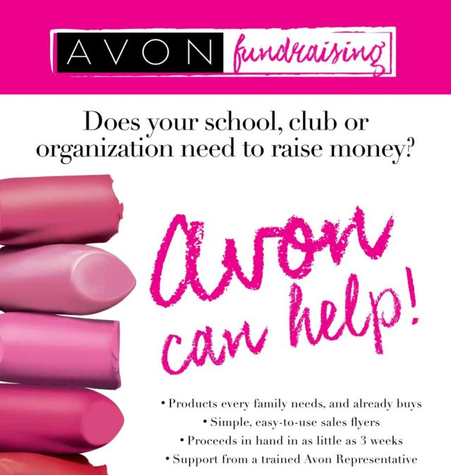 Raise Funds For Your Organization with Avon