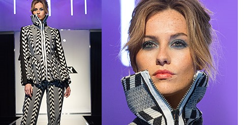 Project Runway Opposites Attract Look from Avon