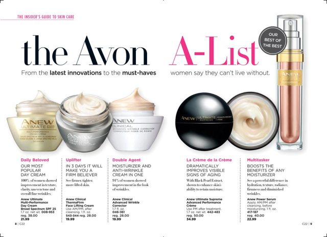 Avon Campaign 22 The Insiders Guide to Skincare