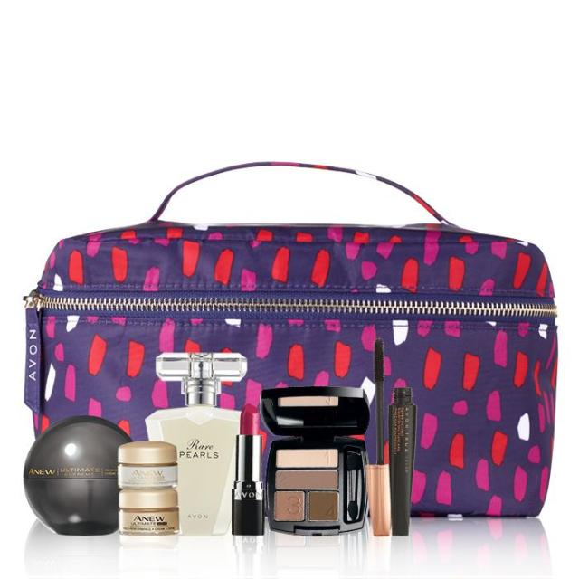 Avon Beauty To Go 8 piece Gift Set