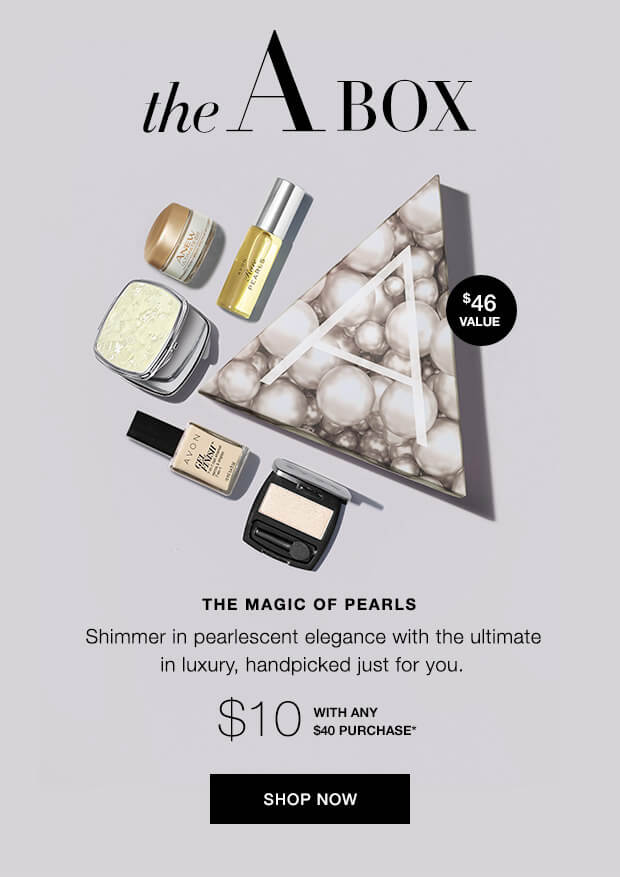 Avon Magic of Pearls A Box