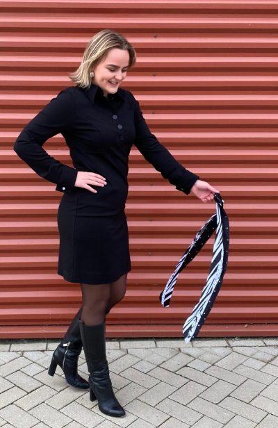 zwarte polojurk ShirlZ
