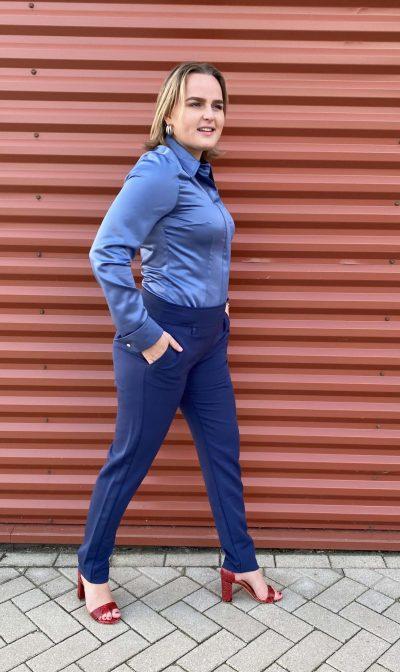 ShirlZ glanzende blouse