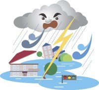 超大型 台風23号の進路と対策、注意点!北海道 接近の恐れあり!