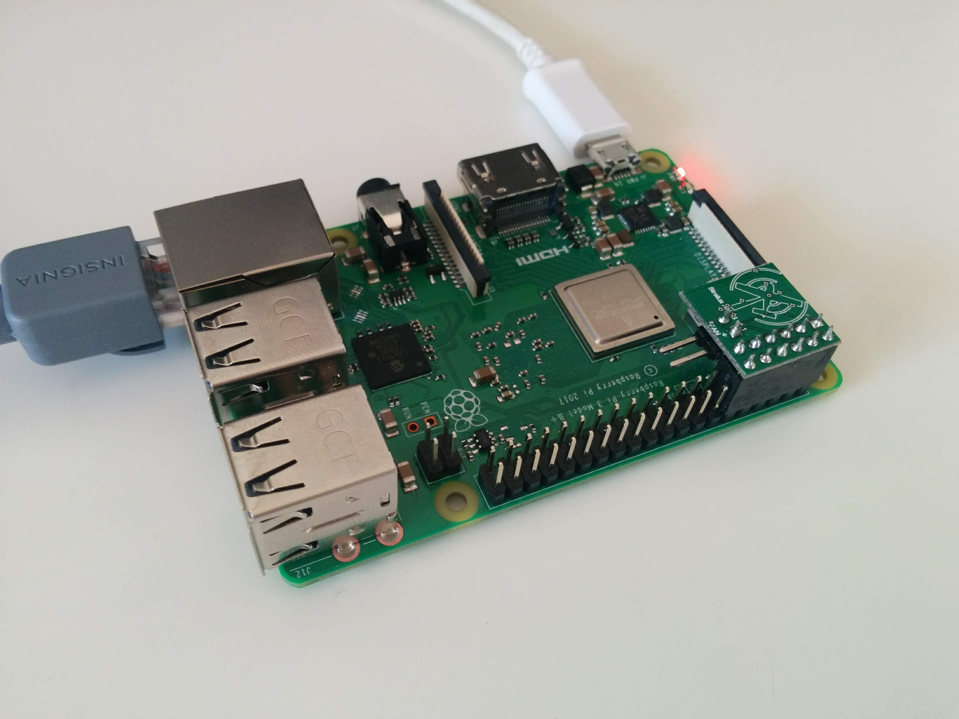 Flask Server Test on Raspberry Pi with FaBo9Axis_MPU9250
