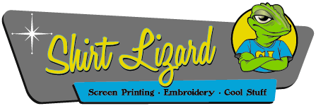Screen printing and embroidery | Shirt Lizard