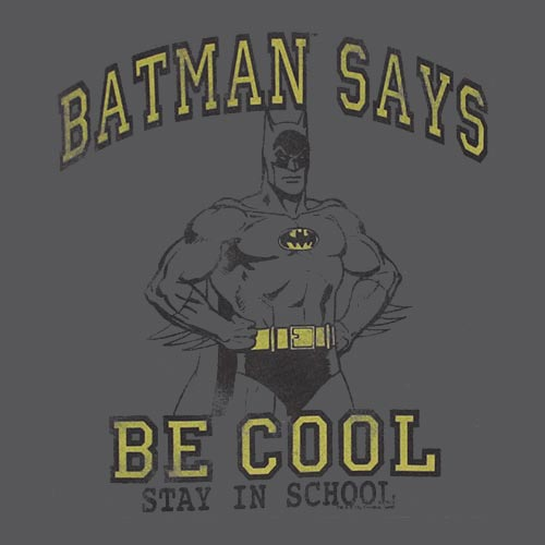 Image result for batman school;