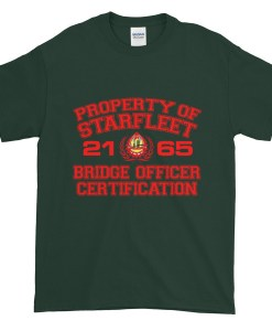 Starfleet Bridge Officer TShirt