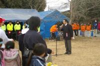 大会会長の石田施設長