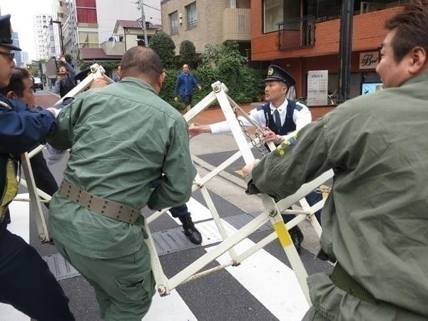 28年10月16日都内抗議活動[中国・北朝鮮問題] 05