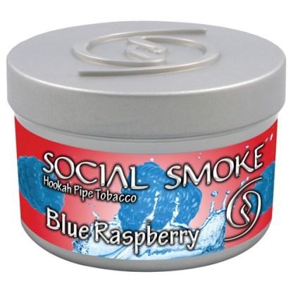 Social Smoke Blue Raspberry 100 gr.