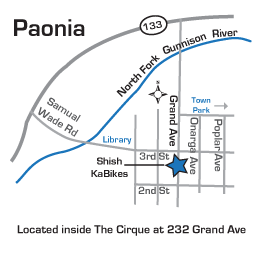 Find a Paonia Bike Shop