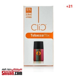 CLIC Tobacco Mix-4 Flavor pods