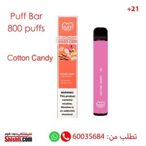 puff bar plus cotton candy disposable pod